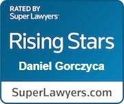 SuperLawyer Rising Star, Daniel Gorczyca